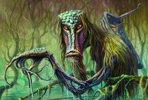 slavic || Demons and creatures / Inspiracje dla potworów. Nie tylko słowiańskie - wszystkie, które mogą być ciekawą referencją.