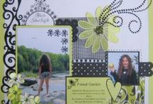2 Photo ~ scrapbook layout