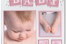 Baby ~ Scrapbook layout