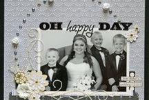 Wedding ~ Scrapbook layout