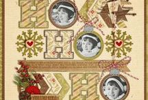 Christmas ~ Scrapbook layout