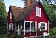 SMALL HOUSES(cottage,caravan,log cabin,tin house,tree house..)
