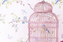 Kuş kafesleri-Kuşlar / Bird cages-Birds