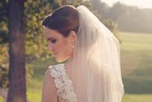 Short veil ideas / Short veils design ideas, with lace, plain or even coloured