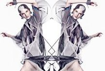 metamorphosis in fashion editorials and photo / manipulated shapes and aspect of body, a new vision about women in fashion