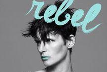 Fashion graphic: magazine covers