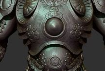 3d art || Drapery, Clothes, Armor