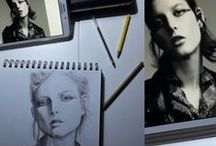 About me: sketchbook, illustrations, fashion sketches and projects