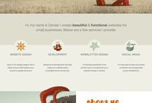 Web Design / Effective web design designs I like