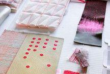TABLEAU: textile, knit and embroideries