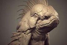 3d art || Monsters