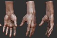 3d art || Hands