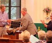 Awards, Certificates, Publicity / St. John Lutheran Church Bible garden is awarding willing and generating much buzz in the community.
