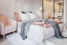 Just a Touch of Blush / Blush pink home decor ideas and decorating inspiration.