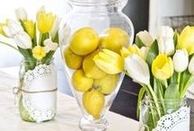 Spring Home Decor Ideas / On this board you will find a collection of Spring decorating ideas and inspiration for your home. Follow along for awesome pins on Spring decor and more!