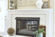 Decorate Your Mantel / Mantel decorating ideas!