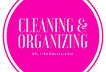 Amazing Cleaning Tips and Organizing Ideas / The best cleaning tips and organizing ideas to help you keep a neat and tidy home!