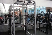 Check Our Our New Machines! / We love new *toys* at the Jungle Club, in our quiet gym we now have a Power Rack!