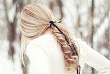 włosy, włosy... / by Irmina Mtj ♥