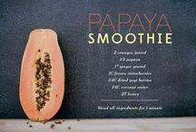 Food | Tropical  / Pineapple | Coconut | Mango | Passion fruit | banana | Papaya | Watermelon