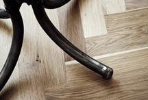 Solid Oak Floors / A classic flooring choice - golden tones with a beautiful natural grain pattern, tough and durable, solid Oak lasts a lifetime
