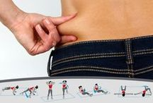 How To Melt The Muffin Top / How to help your muffin top.....go away like MAGIC!