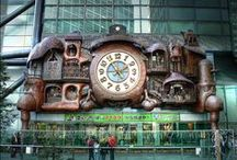 Interesting Clocks, Clock Towers, Watches and Sundials / by Messenger Spirit www.ascensionnow.co.uk