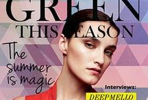Green This Season Magazine / Independent designer fashion. Conscious fashion. Green & Eco fashion new style.