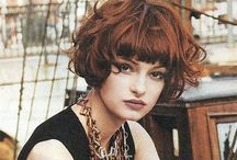 Hair / I lost all of my hair from interferon these are styles I aspire for as I grow it out / by Karen Sabo