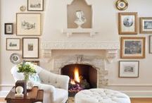 Decorating your mantel