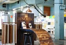Design Junction 18-21 September 2014 / We're launching two new parquet flooring products - come and see us at stand F12!