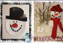 sněhuláci (snowmen)