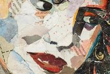 PORTRAITS / collage art / COLLAGE ART by PHILIPPE PATRICIO