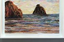 ALGARVE / collage art / 100% COLLAGE ART by PHILIPPE PATRICIO