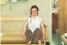 Norman Rockwell / Norman Rockwell illustrations that I collected from internet. / by Javier Becana
