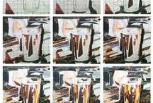 MAKING OF ( collage art ) / Collage Art by Philippe Patricio
