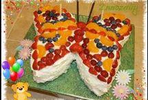 dorty pro děti (cakes for children)