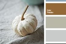 Pretty Palettes for Home / Paint color schemes for the home - inside and out!