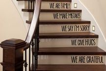 Staircase Style / Creative staircases in homes.