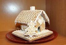 perníkové chaloupky (gingerbread houses)