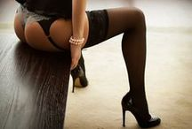 stockings, garters, bodystockings
