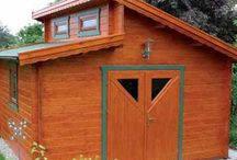 Shed Ideas /  Some ideas and style options for simpler shed type buildings available from Log Cabins Scotland and some other interesting shed designs and outdoor building styles for other shed ideas we can offer.