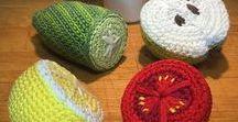 Crochet food & cookies