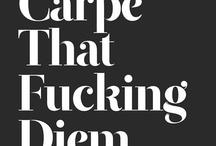 Quotes / Typo Art