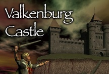 Valkenburg Castle boardgame in Battlegrounds Gaming Engine / Screenshots from one of the many games that can be played using my BGE virtual tabletop software