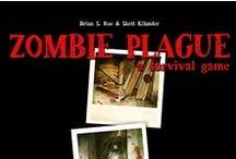 Zombie Plague boardgame in Battlegrounds Gaming Engine / Screenshots from one of the many games that can be played using my BGE virtual tabletop software
