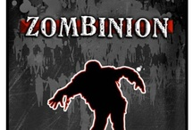 Zombinion card game in Battlegrounds Gaming Engine / Screenshots from one of the many games that can be played using my BGE virtual tabletop software