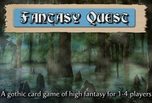 Fantasy Quest card game in Battlegrounds Gaming Engine / Screenshots from one of the many games that can be played using my BGE virtual tabletop software