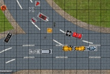 Car Wars boardgame in Battlegrounds Gaming Engine / Screenshots from one of the many games that can be played using my BGE virtual tabletop software