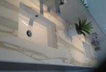 Natural Stone / Marble, Granite, Onyx, Limestone, Slate, Sandstone.